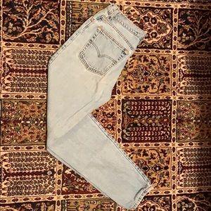 Levi's 512 light blue jeans